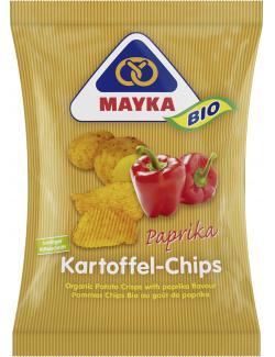 Mayka Bio Kartoffel-Chips Paprika (70 g) - 4006748002302