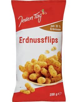 Jeden Tag Flips Mais-Erdnuss Snack