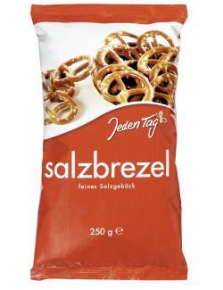 Jeden Tag Salzbrezel feines Salzgebäck