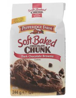 Pepperidge Chocolate Chunk Soft Baked Dark Chocolate Brownie (244 g) - 14100082033