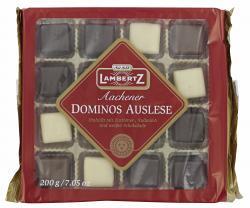 Lambertz Aachener Dominos Auslese Zartbitter-, Vollmilch- & Weiße-Schokolade