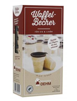 Oehm Waffelbecher für Eis & Likör