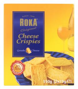 Roka Original Cheese Crispies (150 g) - 8710588115004