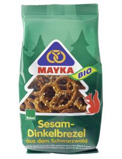 Mayka Bio Schwarzwald Sesam-Dinkelbrezel (125 g) - 4006748008007