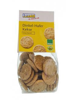 Basic Dinkel Hafer Kekse Bioland