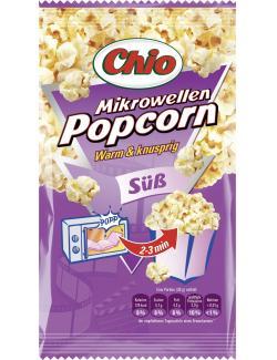 Chio Mikrowellen Popcorn süß