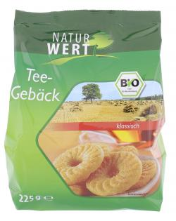 NaturWert Bio Teegebäck (225 g) - 4250780302153