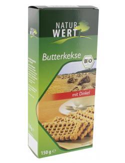 NaturWert Bio Butterkekse mit Dinkel