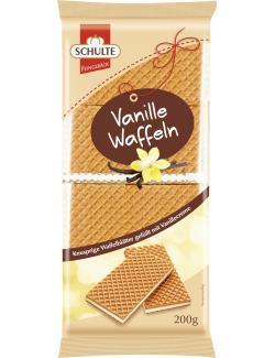 Schulte Vanille-Waffeln