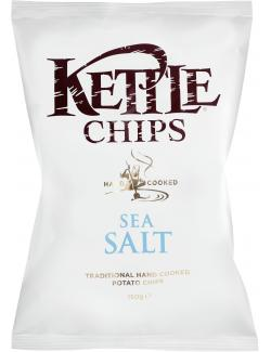 Kettle Chips Sea Salt (150 g) - 5017764112295