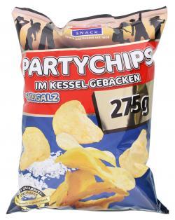 Xox Party Kesselchips Meersalz (275 g) - 4031446869667