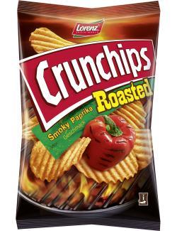 Lorenz Crunchips Roasted smoky Paprika (150 g) - 4018077772610