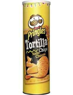 Pringles Tortilla Chips Nacho Cheese (180 g) - 5053990110261