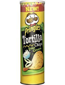 Pringles Tortilla Chips Sour Cream (180 g) - 5053990110285