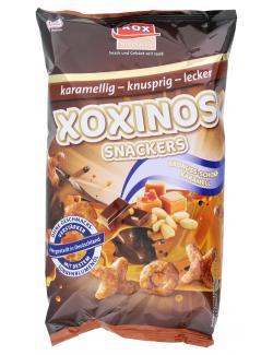 XOX Xoxinos Snackers Erdnuss-Schoki-Karamell (125 g) - 4031446832319