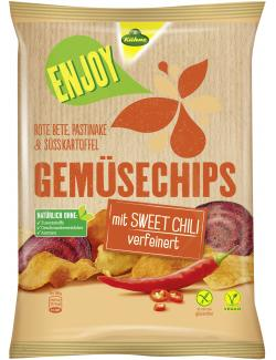 Kühne Enjoy Gemüsechips Sweet Chili