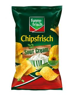 Funny-frisch Chipsfrisch Sour Cream & Wild Onion