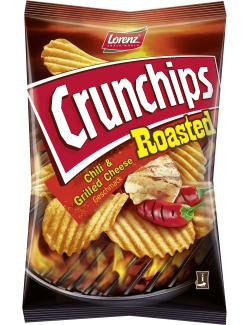 Lorenz Crunchips Roasted Chili & Grilled Cheese (150 g) - 4018077772290