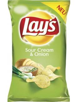 Lay's Classic Chips Sour Cream & Onion (175 g) - 4060800181565