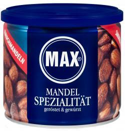 Max Mandelspezialität geröstet & gewürzt