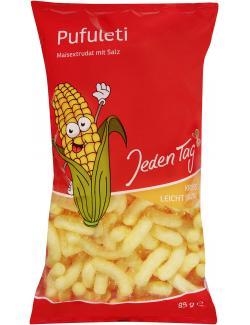 Jeden Tag Pufuleti Mais-Snack