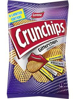 Lorenz Crunchips Gitter Chips gesalzen