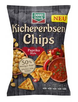 Funny-frisch Kichererbsen Chips Paprika