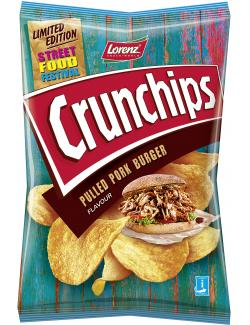 Lorenz Crunchips Pulled Pork Burger