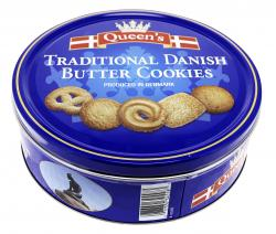 Queen's Danish Buttercookies
