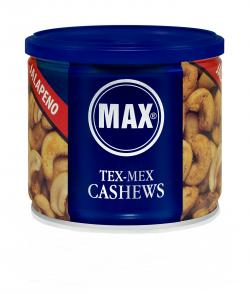 Max Cashews Tex Mex mit Jalapeno