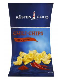 Küstengold Chili Chips extra scharf