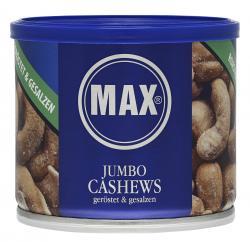 Max Jumbo Cashews geröstet & gesalzen