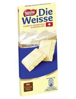 Nestlé die Weisse Original Feinste Schweizer Schokolade