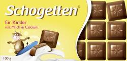 Schogetten Für Kinder mit Milch & Calcium (100 g) - 4000607029202
