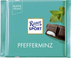 Ritter Sport Bunte Vielfalt Pfefferminz