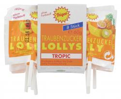 Frigeo Traubenzucker Lollys (60 g) - 4033500101751