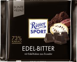 Ritter Sport Bunte Vielfalt Edel-Bitter