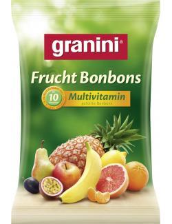 Granini Fruchtbonbons Multivitamin gefüllte Bonbons (150 g) - 4014600104286