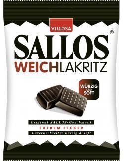 Villosa Sallos Weichlakritz (150 g) - 4030300001106