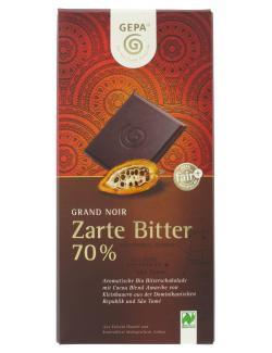 Gepa Bio Grand Noir Zartbitter (100 g) - 4013320066393