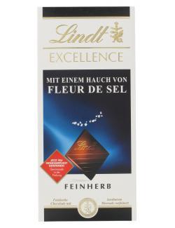 Lindt Excellence Fleur de Sel feinherb (100 g) - 3046920029674