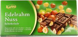 Karina Edel Rahm Nuss Schokolade