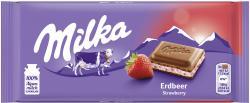 Milka Tafel Erdbeer-Joghurt
