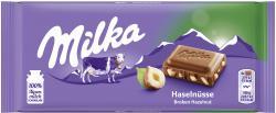 Milka Tafel Haselnuss