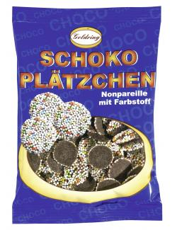 Goldring Schoko Plätzchen