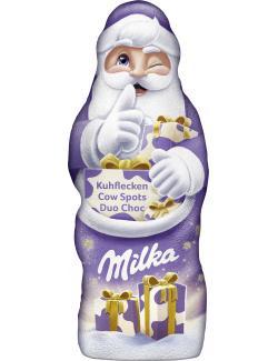 Milka Weihnachtsmann Kuhflecken