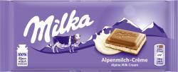 Milka Tafel Alpenmilchcreme