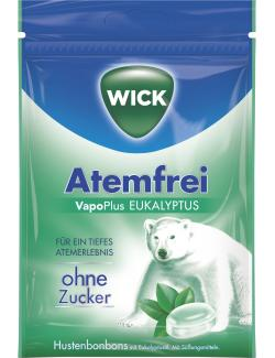 Wick Atemfrei Halsbonbons Eukalyptus ohne Zucker