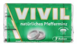 Vivil Natürliches Pfefferminz 3er Multipack (3 x 30 g) - 4020400000079