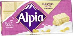 Alpia Schokolade Knusprige Weisse